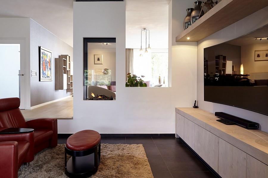 Peters interieurs woonkamer van hoogwaardige kwaliteit